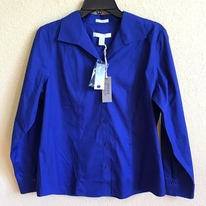 Chico's Blue Button Down Shirt